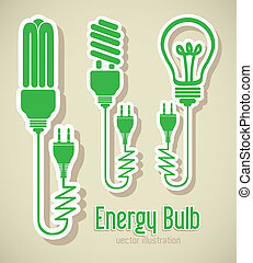 Fitness Icons - Illustration of energy icons, electricity...