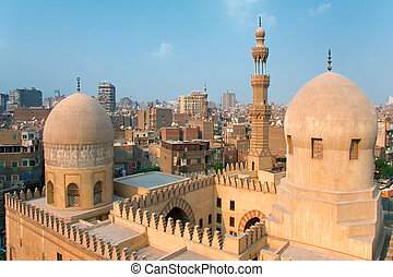 Mosque Ibn Tulun in Cairo city Egypt