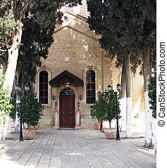 Greek Orthodox Church of St. George, Cana of Galilee. Israel...