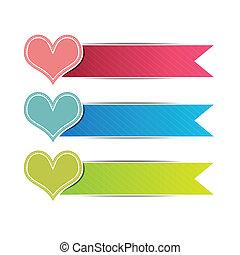 heart button website