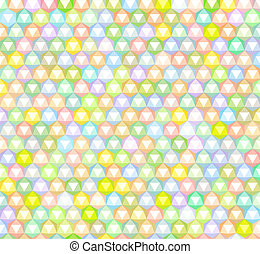 abstract rainbow colored pattern backdrop with triangular...