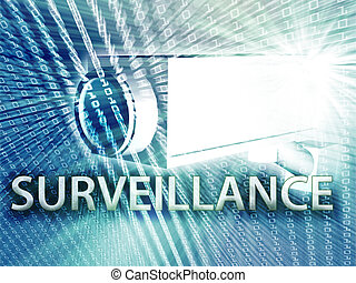 Digital surveillance - Security video camera digital...