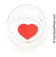 heart in a glass jar