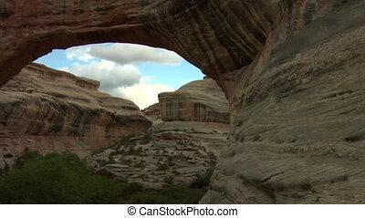 arch at natural Bridges national Monument Utah