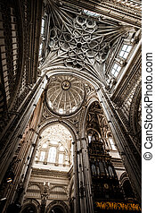 Cordoba, Spain. Mezquita - The Great Mosque (currently...