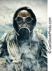 Pollution - Environmental disaster Post apocalyptic survivor...