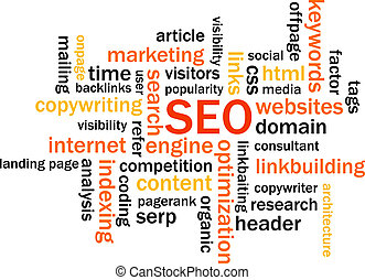 Search Engine Optimization Abstract Image