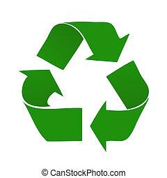reciclar, logotipo