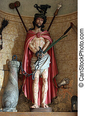 Wounded Jesus