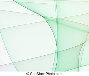 Glowing Digital Curves Abstract Background wallpaper