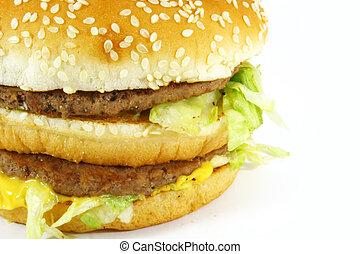 Fast Food Hamburger Meal - Hamburger Sandwich the ultimate...