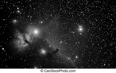 horsehead - real picture taken by telescope of famous region...
