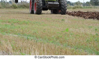 new trench plow tractor - tractor vehicle equipment start...