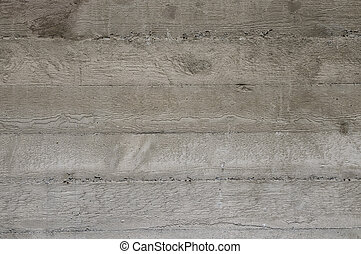 Abstract concrete wall with wood pattern - background...