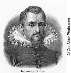 Johannes Kepler old drawing - Johannes Kepler - Picture from...