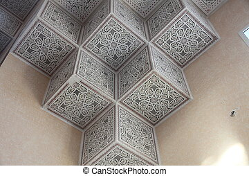 Tunisian arabic ornament - Tunisian traditional arabic...