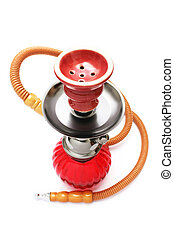 Hookah (Shisha) - Hookah or Shisha isolated on white...