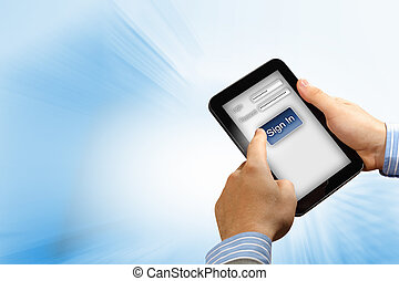 login with email and password - Login with email and...