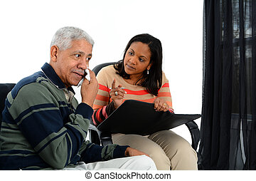 Counseling - Person in need having a counseling session