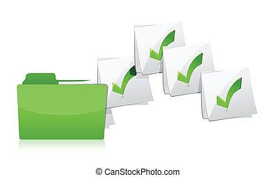 Sending files from folder