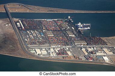 Tunis harbor