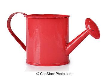rojo, Regar, lata