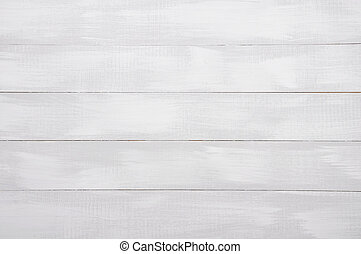 White wooden background - White painted wooden background...