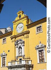 建物,  fermo, 歴史的,  -