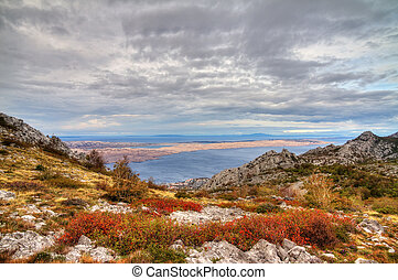 Velebit view - Beautiful view from the national park Velebit...