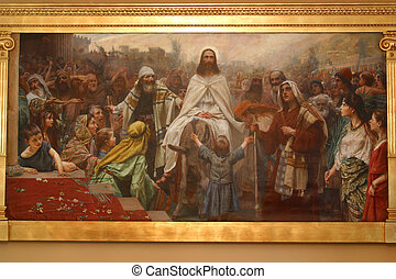 Jesus' triumphal entry in Jerusalem - Jesus' triumphal entry...