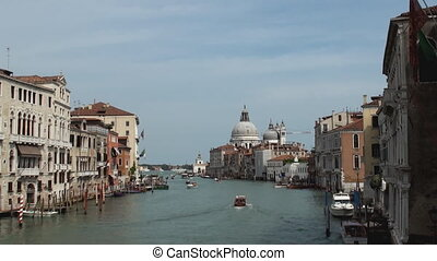 Grand Canal, Venice - View from the Grand Canal Venice with...