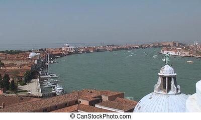 View on Dorsoduro, Venice - View from San Giorgio Maggiore...