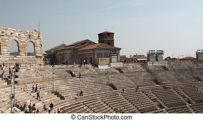 Arena of Verona - Inside the arena of Verona