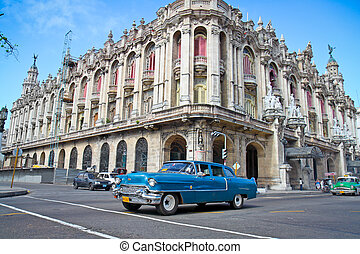 HAVANA - FEB 3: Classic Cadillac on February 3, 2010 in...