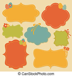Easter Labels Collection - A collection of cute...