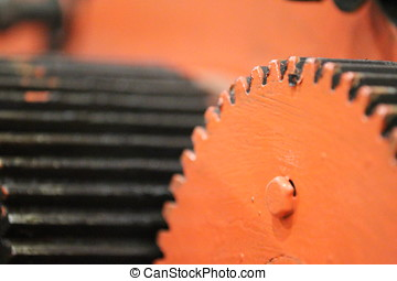 gear - Toothed wheel as part of the machine