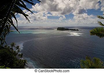 largo,  Samoa, paesaggio