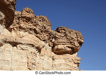 Sandstone cliff, Atlas mountain