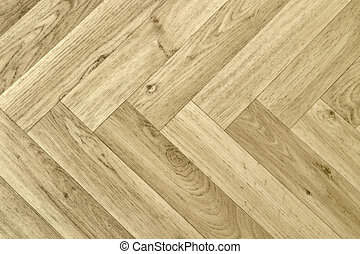 artificial parquet floor - full frame detail of a artificial...
