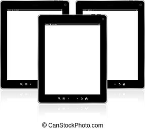 Touch screen tablet pc set