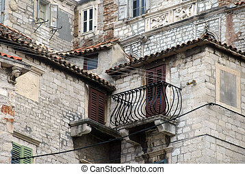 Sibenik old city, details