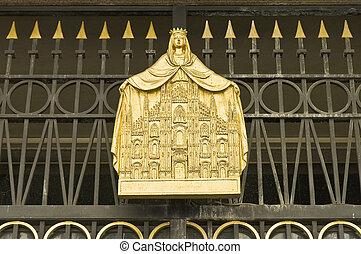 Il Duomo di Milan, Italy - Il Duomo cathedral at Milan,...