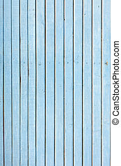 blue old painted wooden fence, naturally weathered - the...