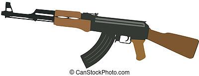 gun - submachine gun war