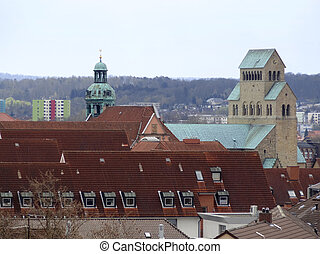 Hildesheim - outdoor scenery in Hildesheim, a city in Lower...
