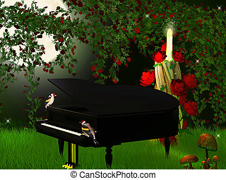 magical  piano
