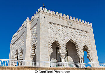 Mausoleum of Mohammed V in Rabat - Entire view of Mausoleum...