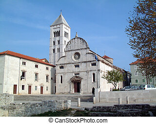 St Mary church in Zadar, Croatia