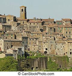 tuscan, 村