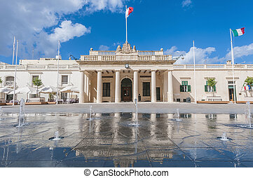 Main Guard building in Valletta, Malta - Former Main Guard...